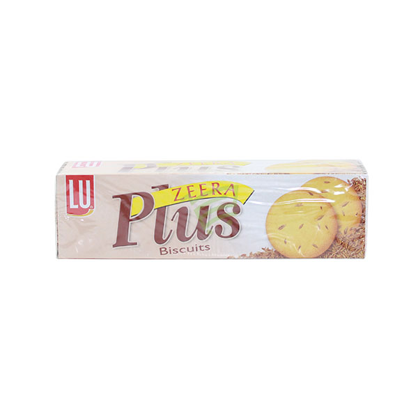 Indian grocery online - Lu Zeera Plus Biscuits 126G - Cartly