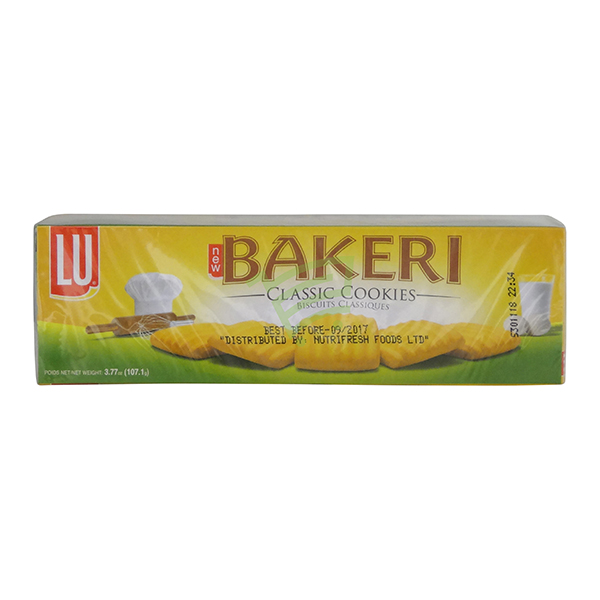 Indian grocery online - Lu Bakeri Classic Cookies 107G - Cartly