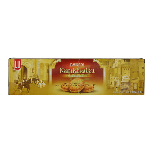 Indian grocery online - Lu Bakeri Nankhatai 54G - Cartly