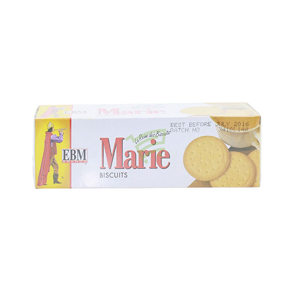 Indian grocery online - EBM Marie Biscuits 136G - Cartly
