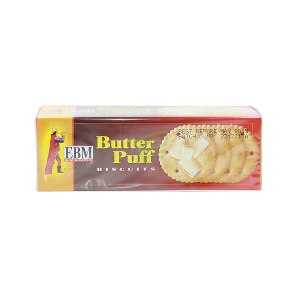 Indian grocery online - EBM Butter Puff Biscuits - Cartly