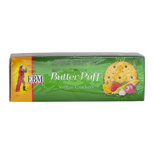Indian grocery online - EBM Butter Puff Veggie 104.8G - Cartly