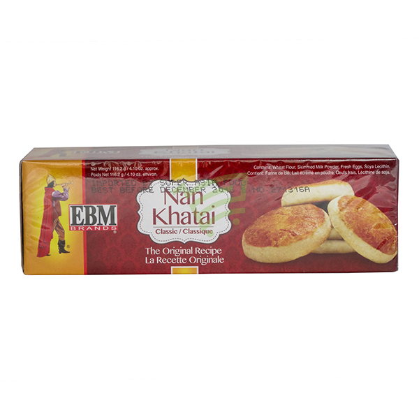Indian grocery online - EBM Nan Khatai 116G - Cartly