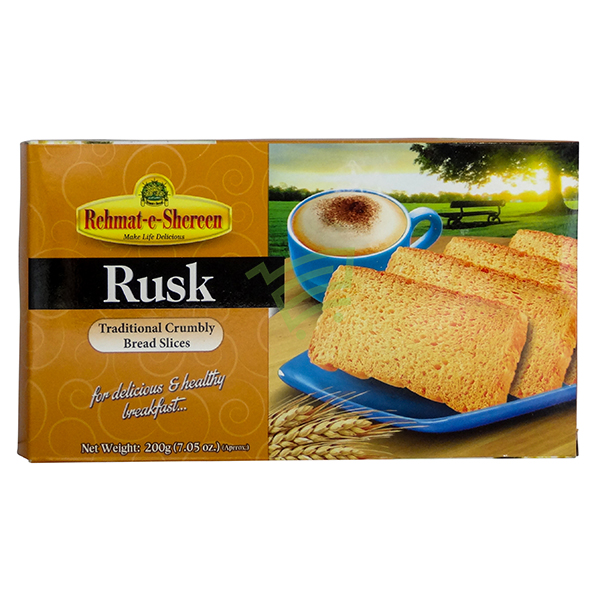 Indian grocery online - Rehmat-e-Shereen Rusk 200G - Cartly
