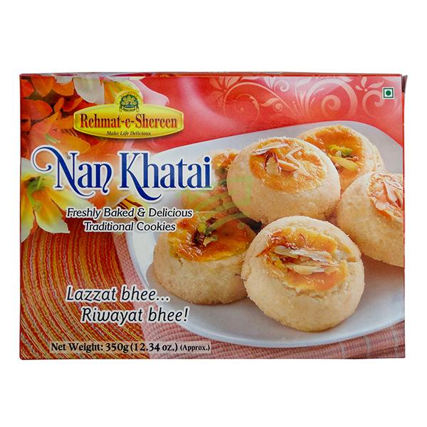 Indian grocery online - Rehmat-e-Shereen Nan Khatai 350G - Cartly