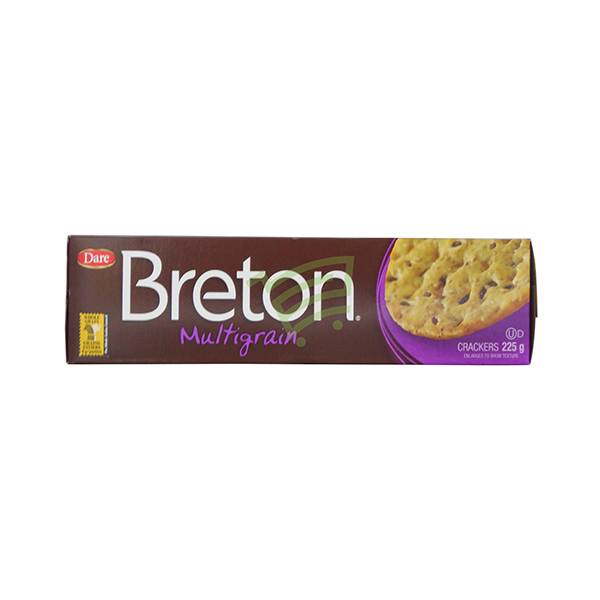 Indian grocery online - Breton Multigran Crackers 225G - Cartly