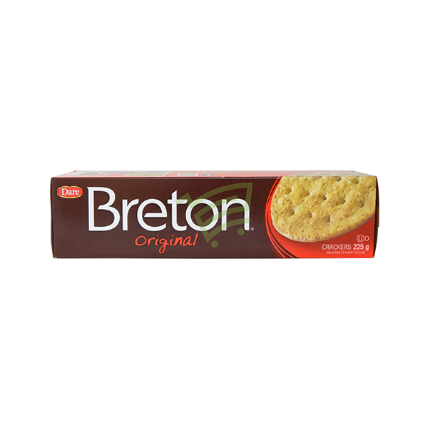 Indian grocery online - Breton Original Crackers 225G - Cartly