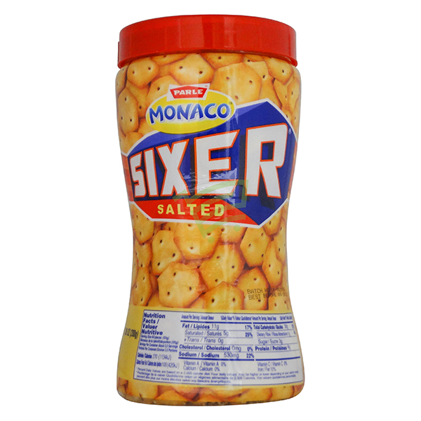 Indian grocery online - Parle Monaco Sixer Salted 200G - Cartly