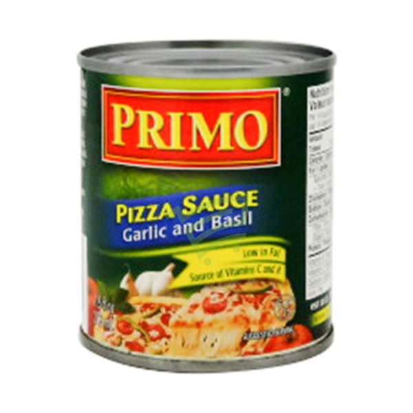 Indian grocery online - Primo Pizza Sauce Garlic and Basil 213ml - Cartly
