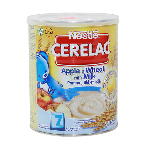 Indian grocery online - Nestle Cerelac Apple & Wheat - Cartly