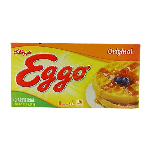 Indian grocery online - Kellogg's Eggo Waffles  280g - Cartly