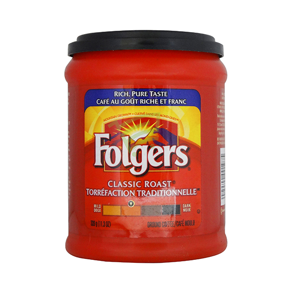 Indian grocery online - Folgers Ground Coffee 320G - Cartly