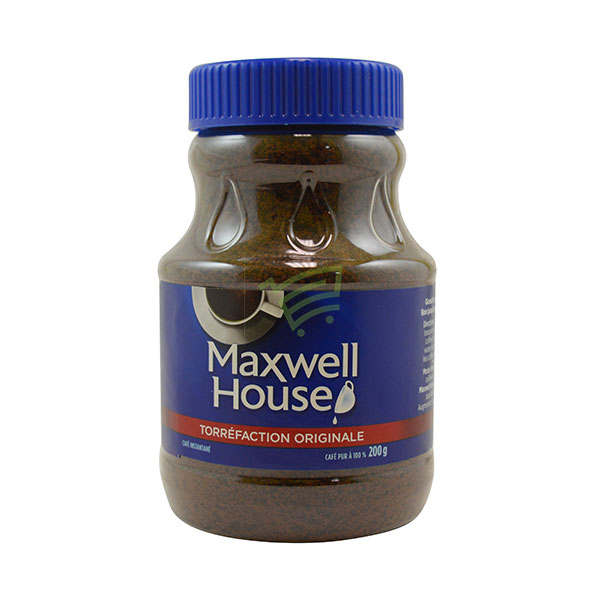 Indian grocery online - Maxwell House Coffee 200G - Cartly