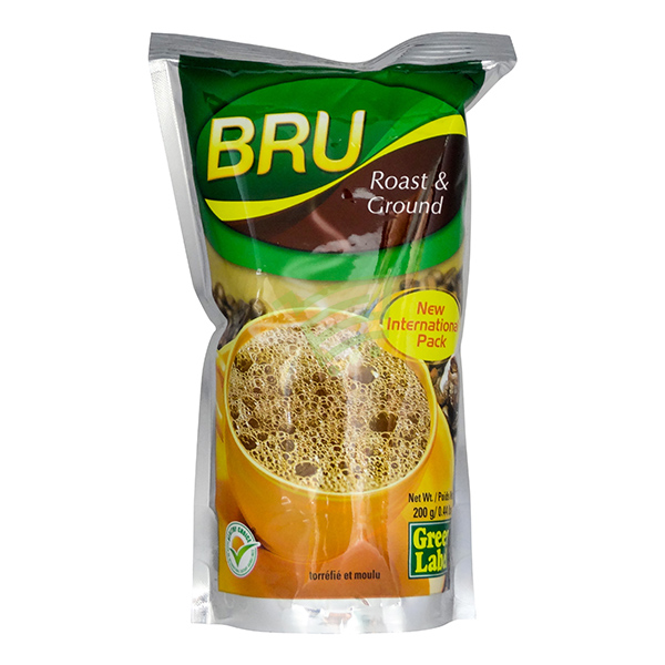 Indian grocery online - Bru Roast & Ground Coffee 200G - Cartly