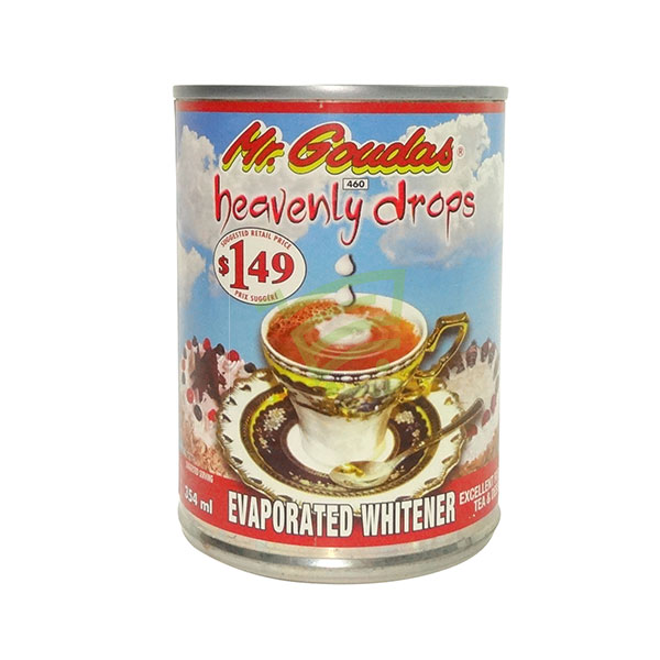 Indian grocery online - Mr.Goudas Evaporated Whitener 354Ml - Cartly