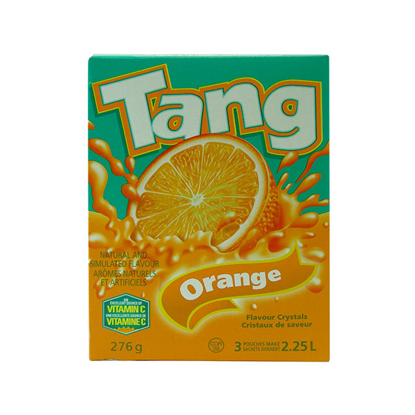 Indian grocery online - Tang Orange Flavour Crystals 276G - Cartly