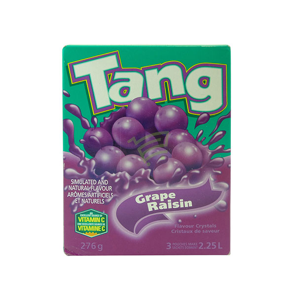 Indian grocery online - Tang Grape Flavour Crystals 276G - Cartly