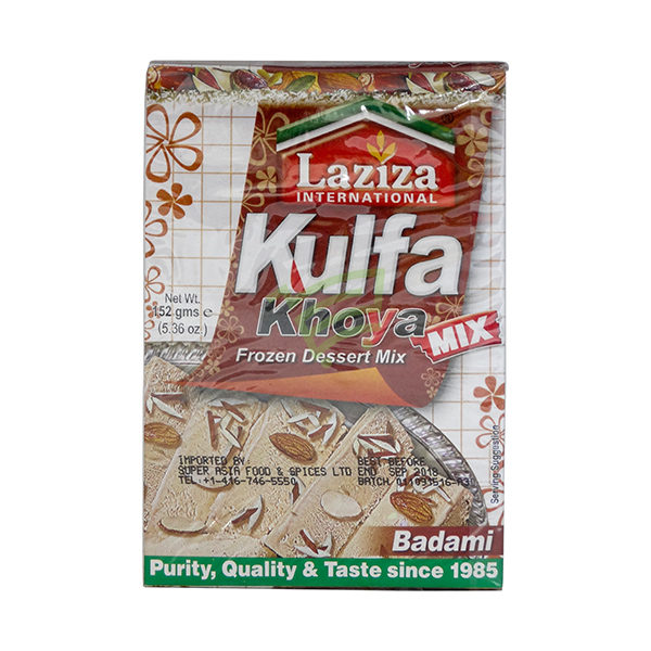 Indian grocery online - Laziza Kulfa Khoya Mix Almond 52G - Cartly