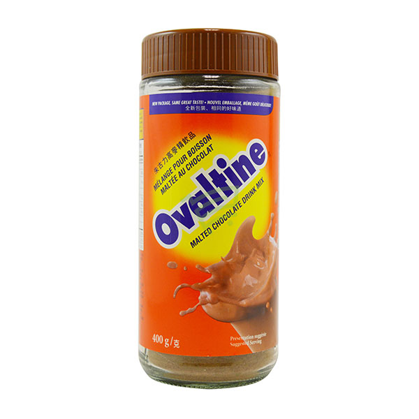 Indian grocery online - Ovaltine Malted Chocolate Drink Mix 400G - Cartly