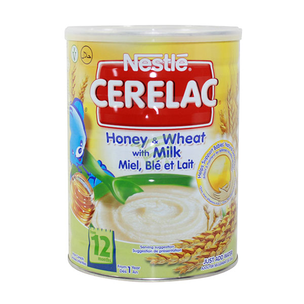 Indian grocery online - Nestle Cerelac Honey & Wheat With Milk 1Kg - Cartly
