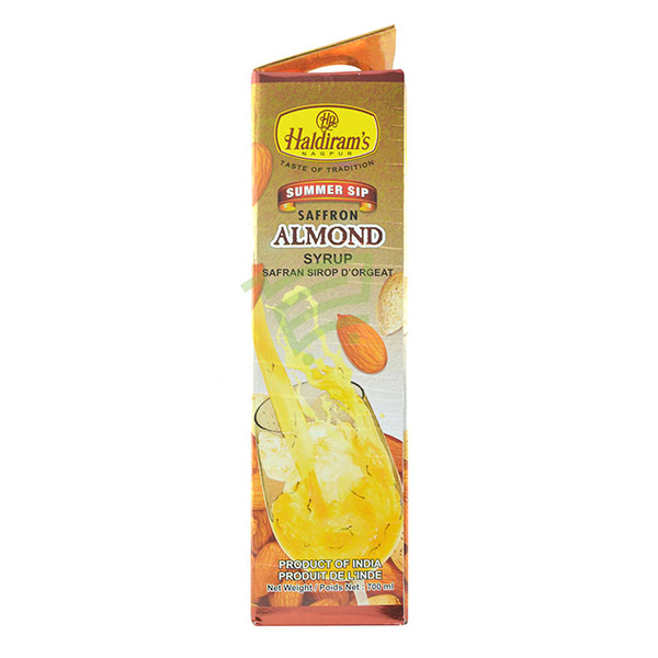 Indian grocery online - Haldiram's Kesar Badam 700Ml  - Cartly