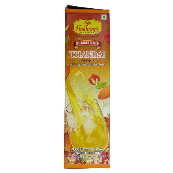 Indian grocery online - Haldiram's Thandai Syrup 700Ml - Cartly
