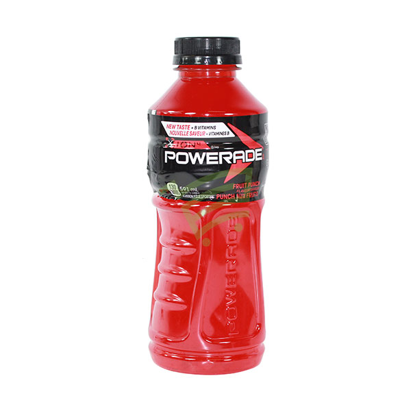 Indian grocery online - Powerade Fruit Punch Drink 591Ml - Cartly