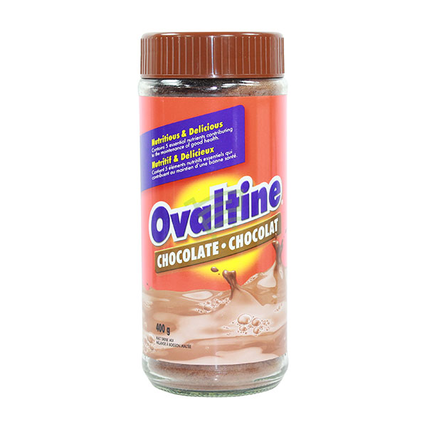 Indian grocery online - Ovaltine Chocolate 400G - Cartly