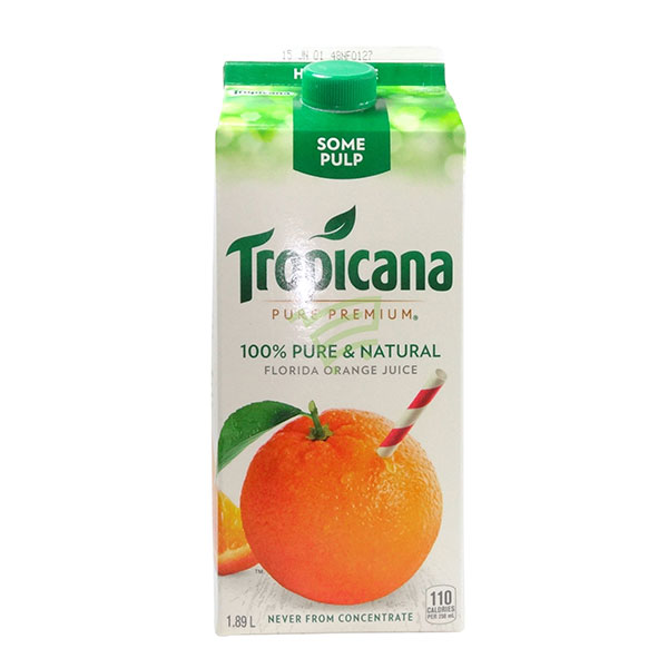 Indian grocery online - Tropicana Orange Juice  1.75L - Cartly