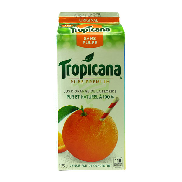 Indian grocery online - Tropicana Orange Juice with Lot Pulp 175L - Cartly