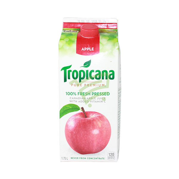 Indian grocery online - Tropicana Apple Juice 1.75L - Cartly