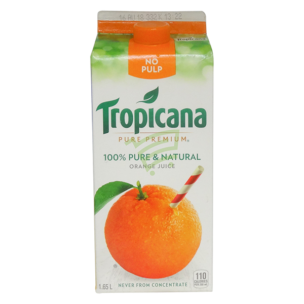 Indian grocery online - Tropicana Orange Juice 1.65L - Cartly