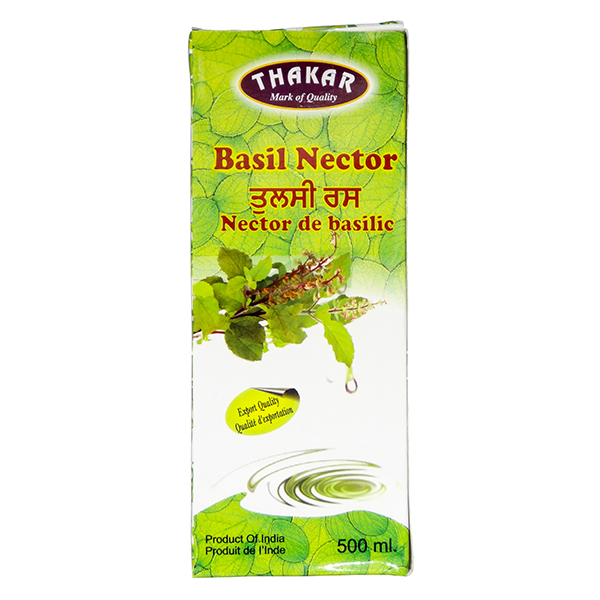 Indian grocery online - Thakar Basil Nector 500Ml - Cartly