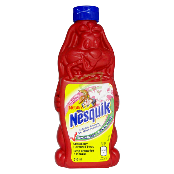 Indian grocery online - Nestle Nesquik Strawberry 510Ml - Cartly