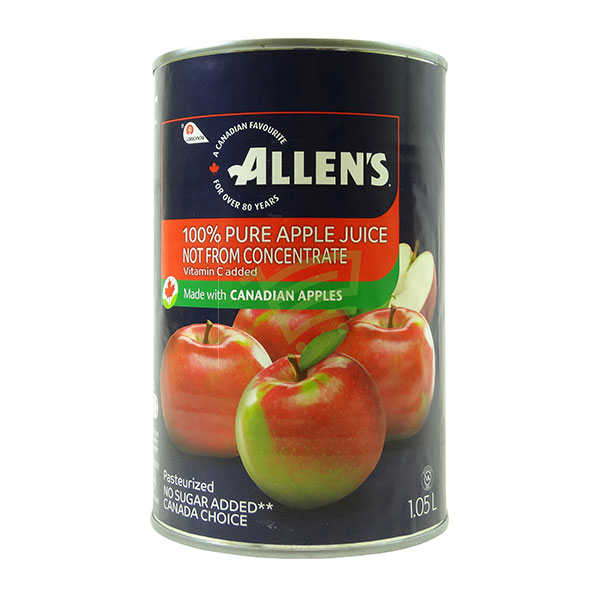 Indian grocery online - Allen's Apple Juice 1.05L - Cartly