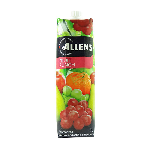 Indian grocery online - Allen's Fruit Punch 1L - Cartly