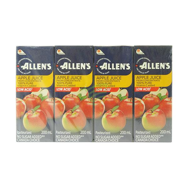 Indian grocery online - Allen's Apple Juice  200Ml/8Pk - Cartly
