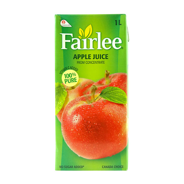 Indian grocery online - Fairlee Apple Juice 1L - Cartly