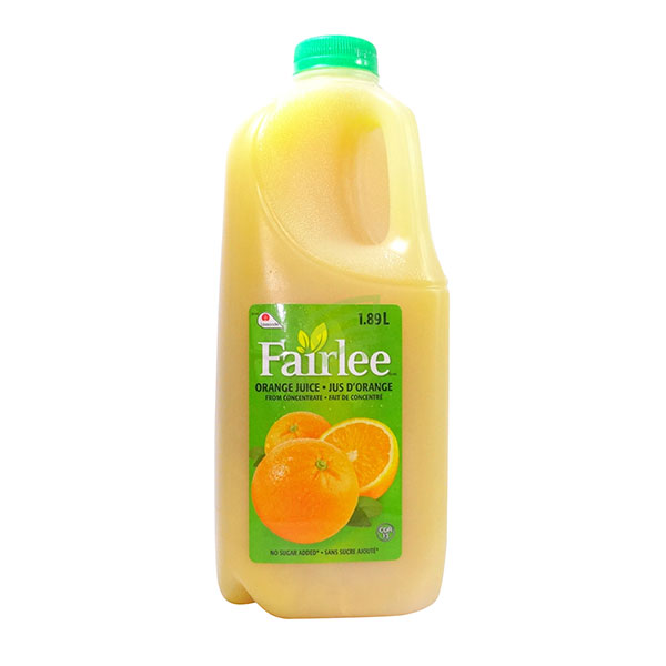 Indian grocery online - Fairlee Orange Juice 1.89L - Cartly