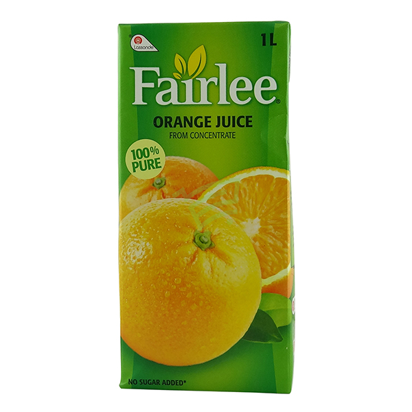 Indian grocery online - Fairlee Orange Juice 1l - Cartly