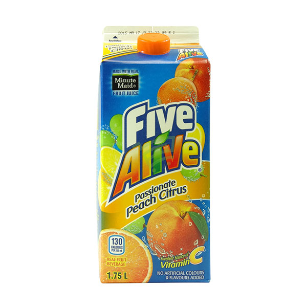 Indian grocery online - Five Alive Peach Citrus  Juice 1.75L - Cartly