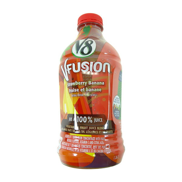 Indian grocery online - V8 Fusion Strawberry 1.36L - Cartly