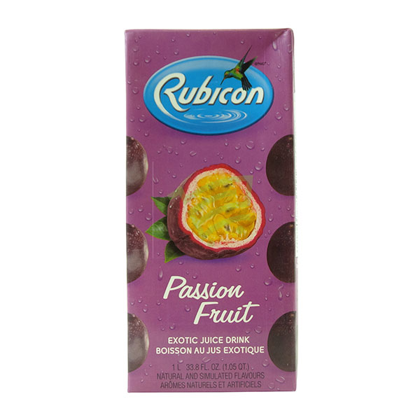 Indian grocery online - Rubicon Passion fruit Drink 1L - Cartly
