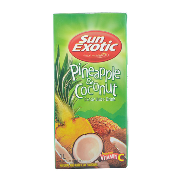 Indian grocery online - Sun Exotic Pine Apple & Coconut Drink(Se)1L - Cartly