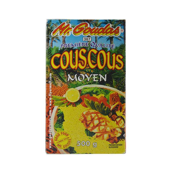 Indian grocery online - Mr.Goudas Couscous Moyen 500G - Cartly