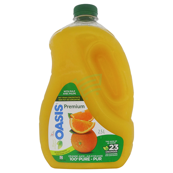 Indian grocery online - Oasis Orenge Juice With Pulp 2.5L - Cartly