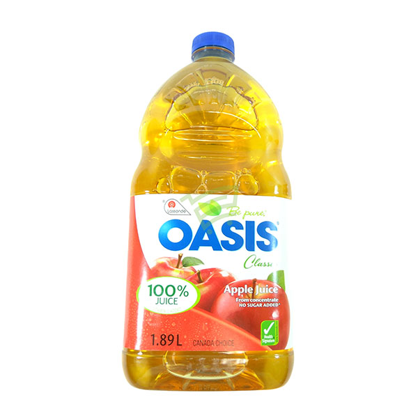 Indian grocery online - Oasis Apple Juice 1.89L - Cartly