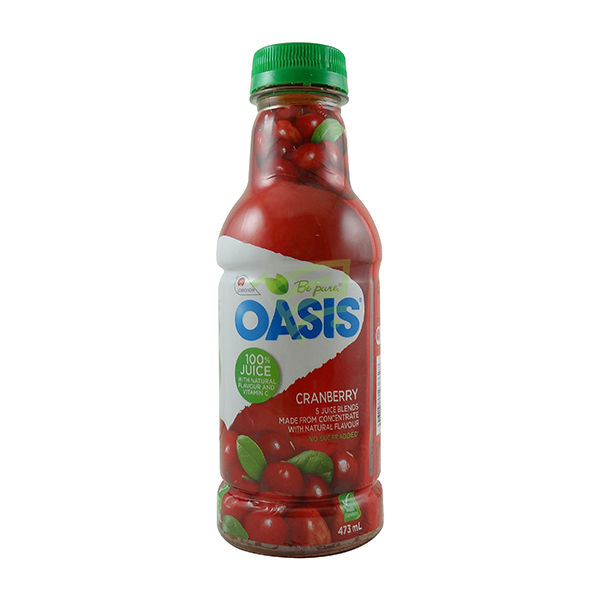 Indian grocery online - Oasis Craneberry Juice 473ml - Cartly