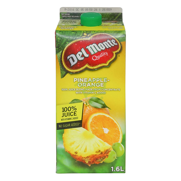 Indian grocery online - Delmonte Pineapple&Orange Juice 1.6L - Cartly