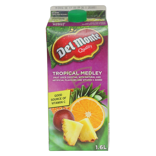 Indian grocery online - Delmonte Tropical Melody Juice 1.6L - Cartly